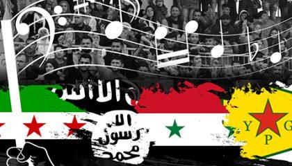 أدلجة الغناء  (تحليل مضمون الأنماط الغنائية في الصراع السوري)