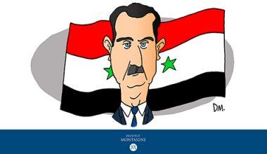 بورتريه بشار الأسد؛ رئيس الجمهورية العربية السورية