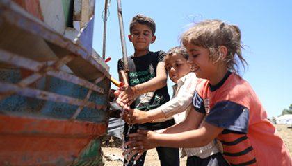 أطفالٌ ضحايا النزاع في سورية