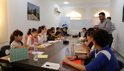 دورة تدريبية على الخط العربي في مركز حرمون في الدوحة